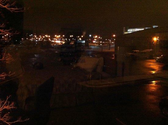 Comfort Inn Montreal Aeroport : vue de la chambre
