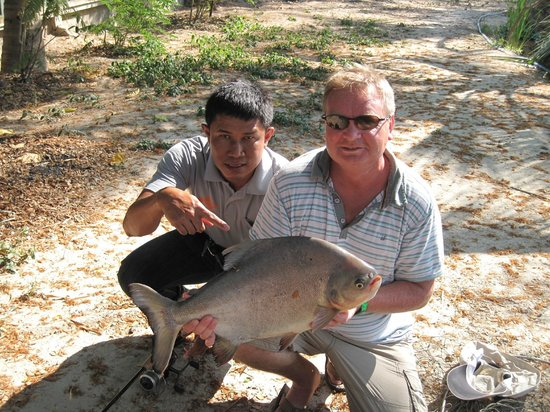 Hua Hin Fishing Lodge: pacu power