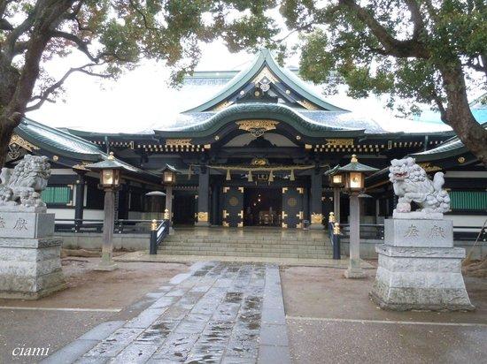 Shinjuku, Japon: 穴八幡宮
