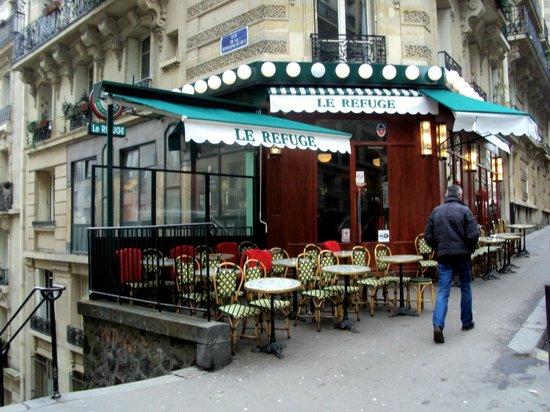 Le refuge paris 72 rue lamarck montmartre restaurant avis num ro de t l phone tripadvisor - Le refuge des 3 ours ...