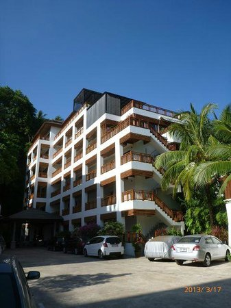 Surin Sabai Condominium: Surin Sabai building