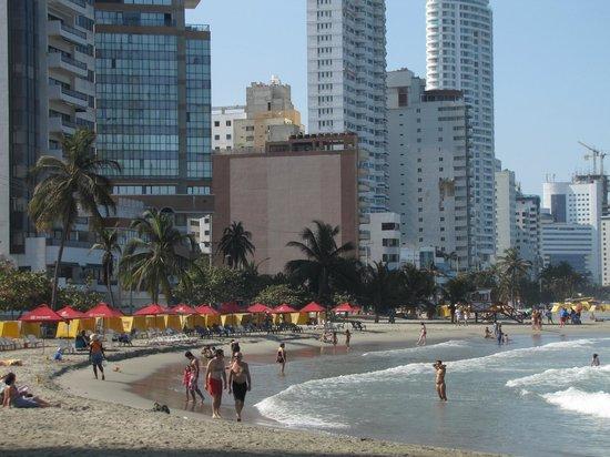 Decameron Cartagena: la plage