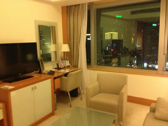 Metropark Hotel Causeway Bay Hong Kong: Fantastic view for lounge