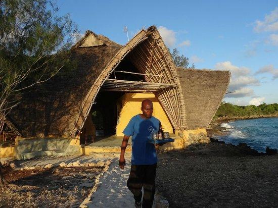 Chumbe Island Coral Park: Restaurant und Schulungsgebäude