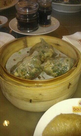 Golden Bay Fresh Seafood Restaurant: Some Vegetable Dumpling -- Yummy!!!