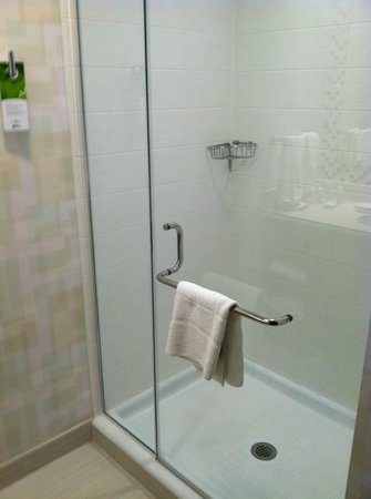 SpringHill Suites Houston Intercontinental Airport: Shower/Vanity area