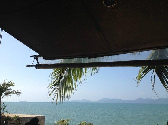 Florist Resort : Вид на море во время завтрака