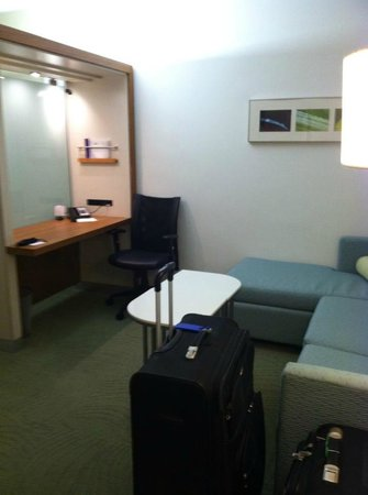 SpringHill Suites Houston Intercontinental Airport: sitting area