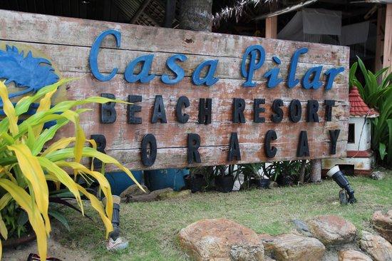 Casa Pilar Beach Resort: Entrance!