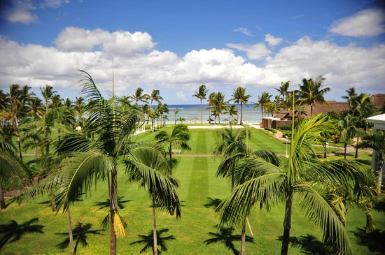 Sugar Beach Golf & Spa Resort: View from room, Manor House