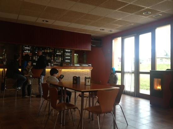 Hotel Puerta Pinares: restaurante