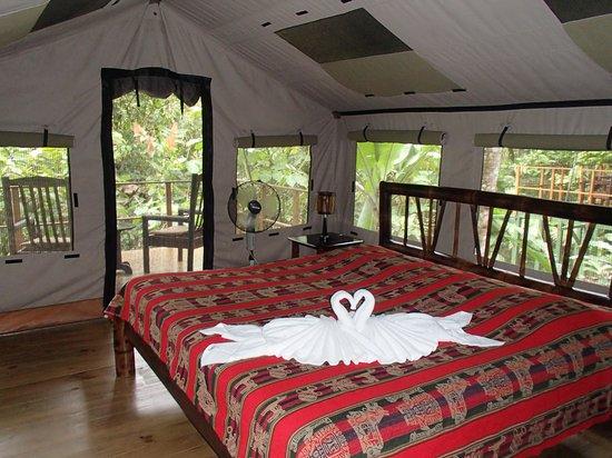 Rio Tico Safari Lodge : Tente n°1
