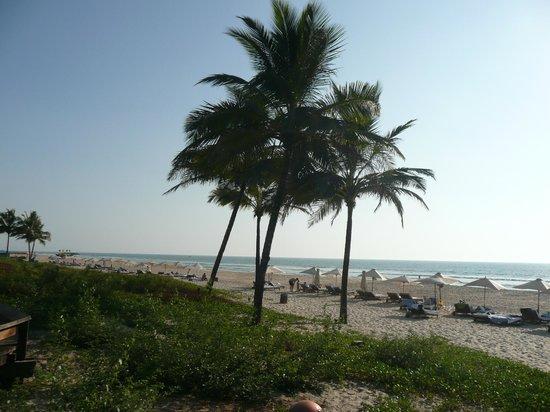Grand Hyatt Goa: la spiaggia privata