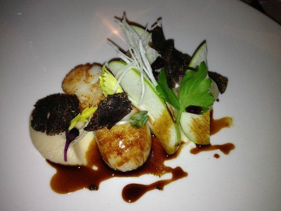 Le Restaurant : Scallops