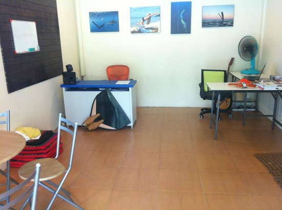 Andaman Apnea : office