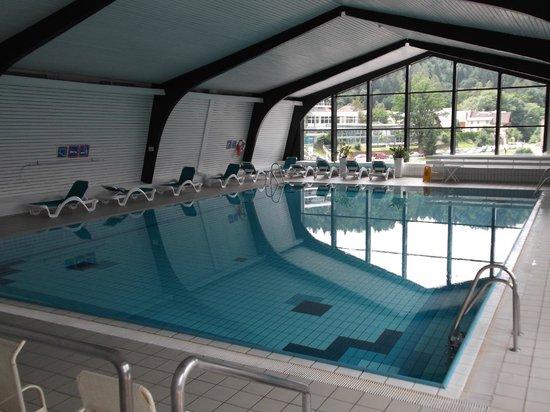 Park Hotel Bled: la piscina al 5° piano