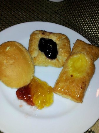 Club Punta Fuego: danish pastries