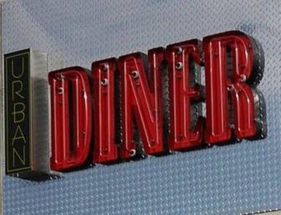 Urban Diner Sign