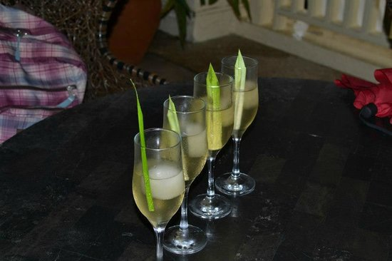 Club Punta Fuego: welcome drinks
