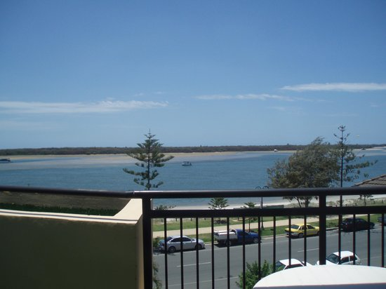 Windsurfer Resort: View from the balcony
