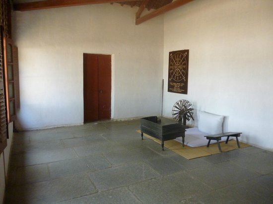 Lemon Tree Premier; The Atrium, Ahmedabad: Gandhis room at his Ashram now a museum