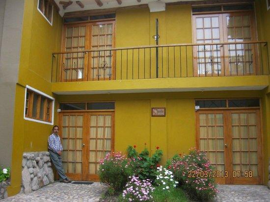 Hotel Pisonay Pueblo: Entrada de habitaciones