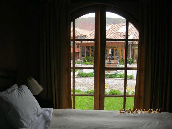 Hotel Pisonay Pueblo: Vista desde la suite junior