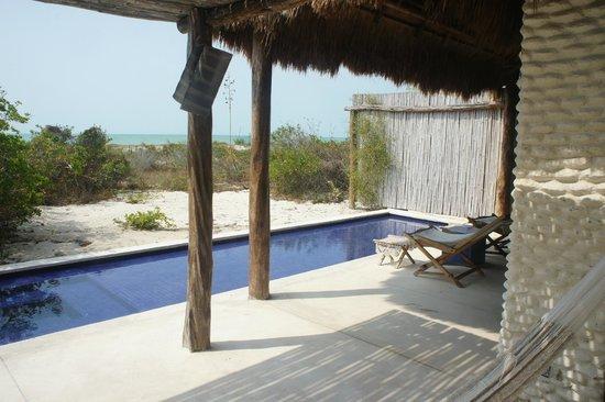 Hotel Xixim: Xixim master suite private terrace