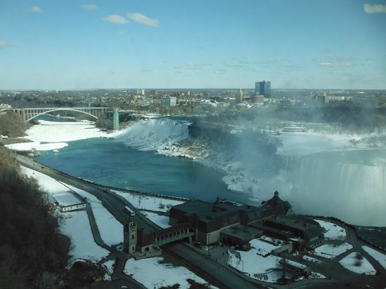 Niagara Falls Marriott Fallsview Hotel & Spa: from room