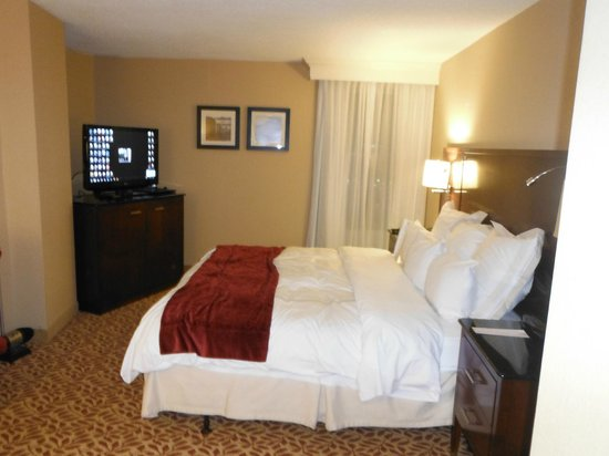 Niagara Falls Marriott Fallsview Hotel & Spa: After a long journey, a peaceful rest