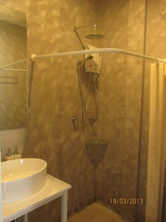 Focal Local Bed and Breakfast: Shower