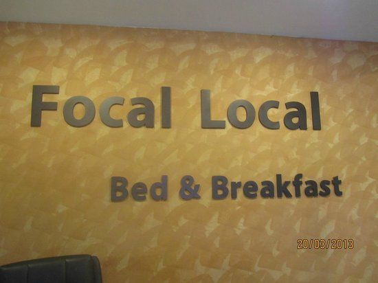 Focal Local Bed and Breakfast: I like this place!