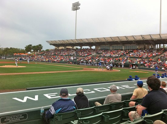 Ed Smith Stadium: Spring Training game