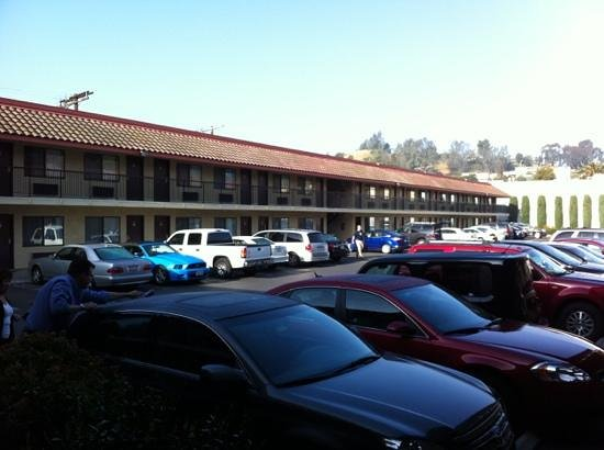 Comfort Inn Near Old Town Pasadena in Eagle Rock CA: aussenbereich