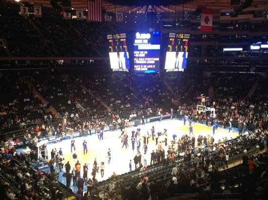 Knicks Picture Of Madison Square Garden New York City Tripadvisor