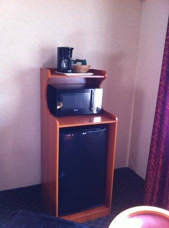 Comfort Inn Near Old Town Pasadena in Eagle Rock CA: Kaffeemaschine , microwelle und Kühlschrank
