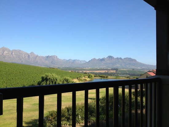 Asara Wine Estate & Hotel: View from balcony