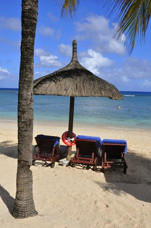 Le Meridien Ile Maurice: our favorite sunbeds
