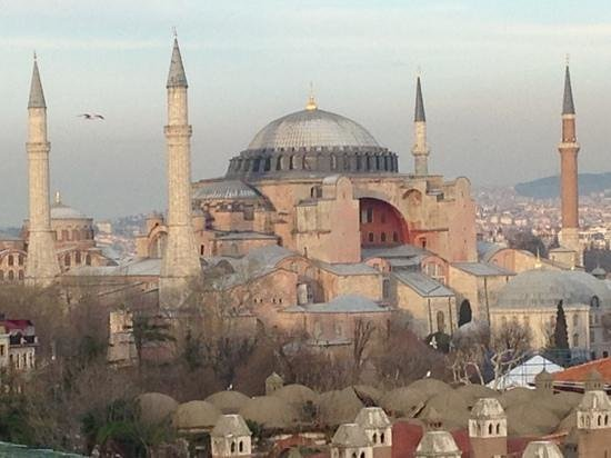Lady Diana Hotel: ...and the Haga Sophia from same dinner table...