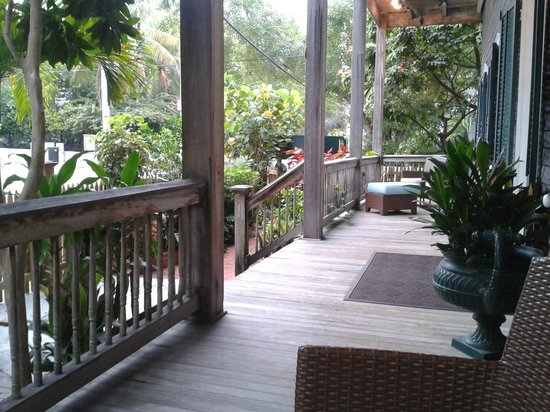 Cypress House Hotel : Key West: Porch