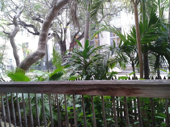 Cypress House Hotel : Key West : View from porch