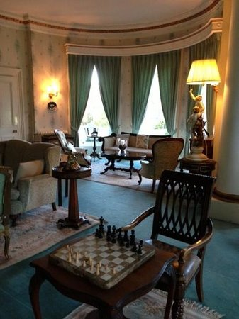 Ballyseede Castle: One of the sitting rooms