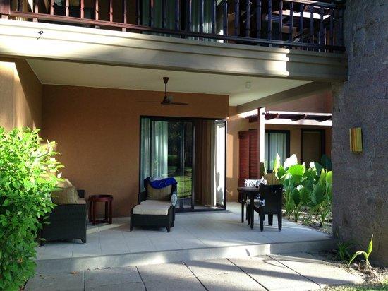 Constance Ephelia: Nice, shady terrace