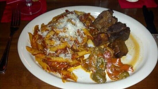 Avanzare Ristorante: braised short ribs and peppers