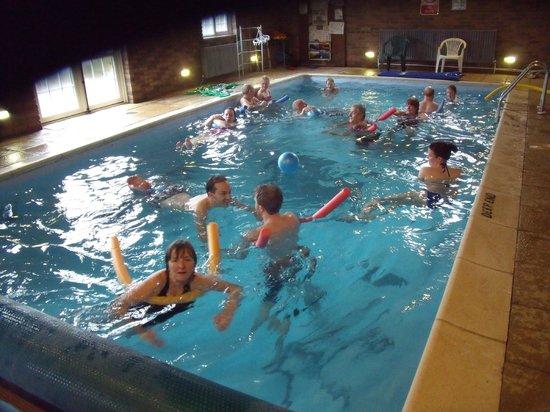 Barlings Barn: Fun in the pool