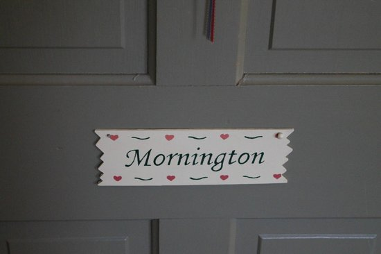 Afton Mountain Bed & Breakfast: Room Door - Mornington