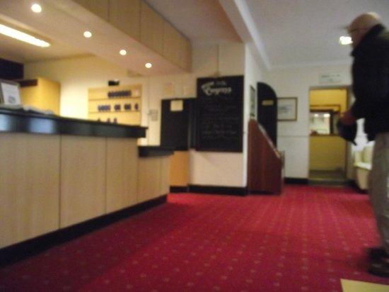 The Congress Hotel: Reception area