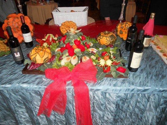Hotel Abano Terme Cristoforo: serata dei fiori