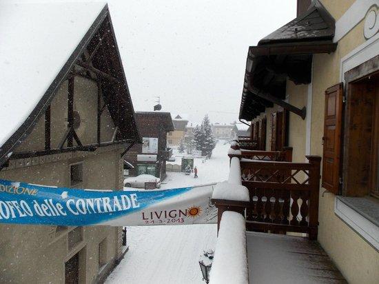 Hotel Compagnoni: direttamente sul balcone