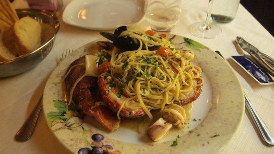 Agli Artisti da Piero : Pasta alla xxx  37.5 euro
